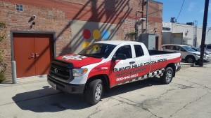 Toyota Scion Truck Wrap, Truck Wrap, Vehicle Advertisement, Vehicle Truck Wrap, Truck Wrap Advertisement