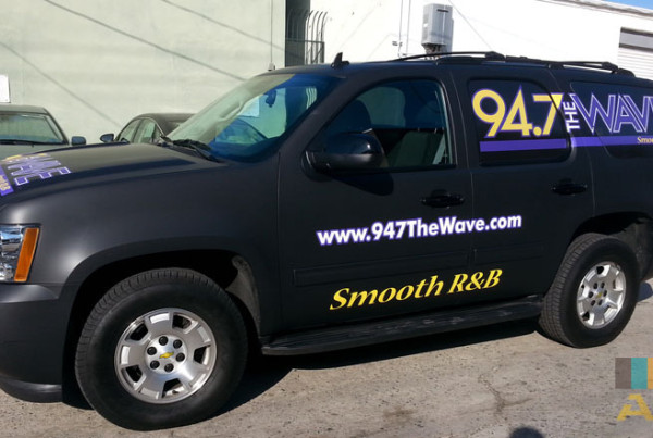 Smooth R&B Truck Wrap 94.7 Radio