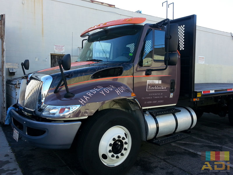 Flatbed Truck Wrap