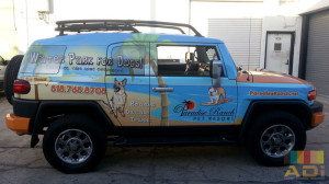 Water Park for Dogs Truck Wrap