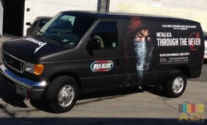 Metallica Through The Never Van Wrap