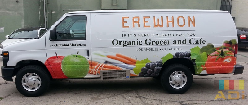 Organic Grocer and Cafe Erewhon Van Wrap
