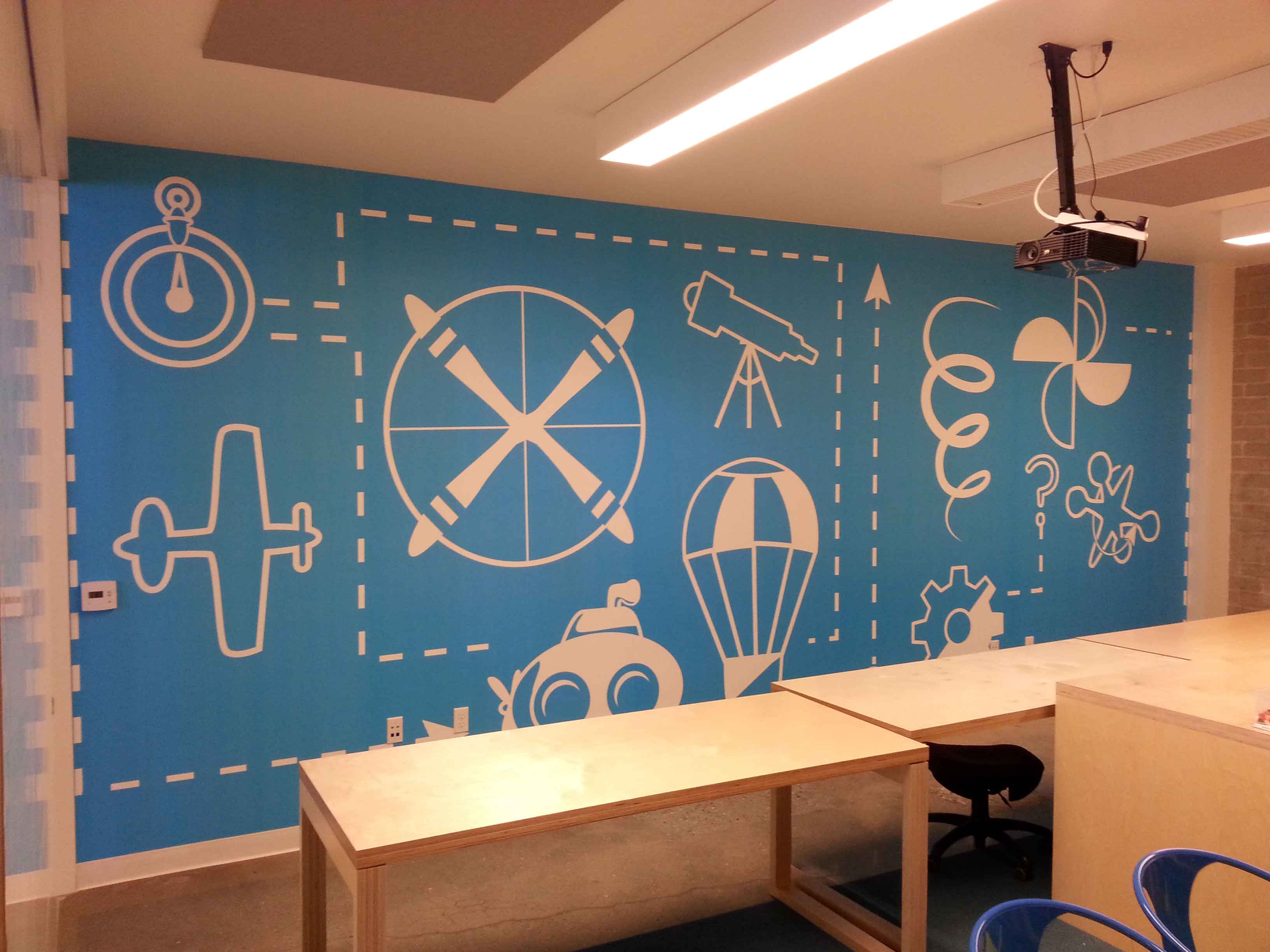 Playroom Wall Graphics