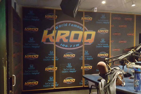 KROQ Studio Wall Graphics