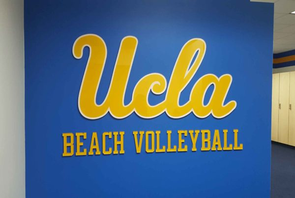 UCLA wall graphics