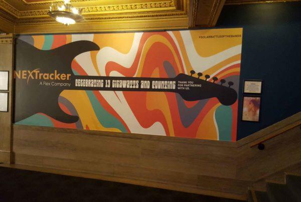 NextTracker Wall Graphics