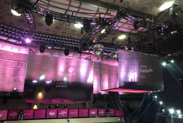 T-Mobile Event Signage-walls - Los Angeles